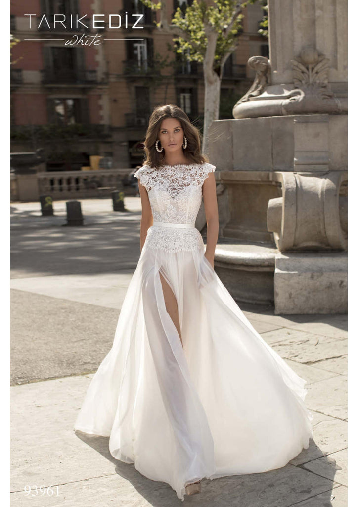 Tarik Ediz 93961 Wedding Dress