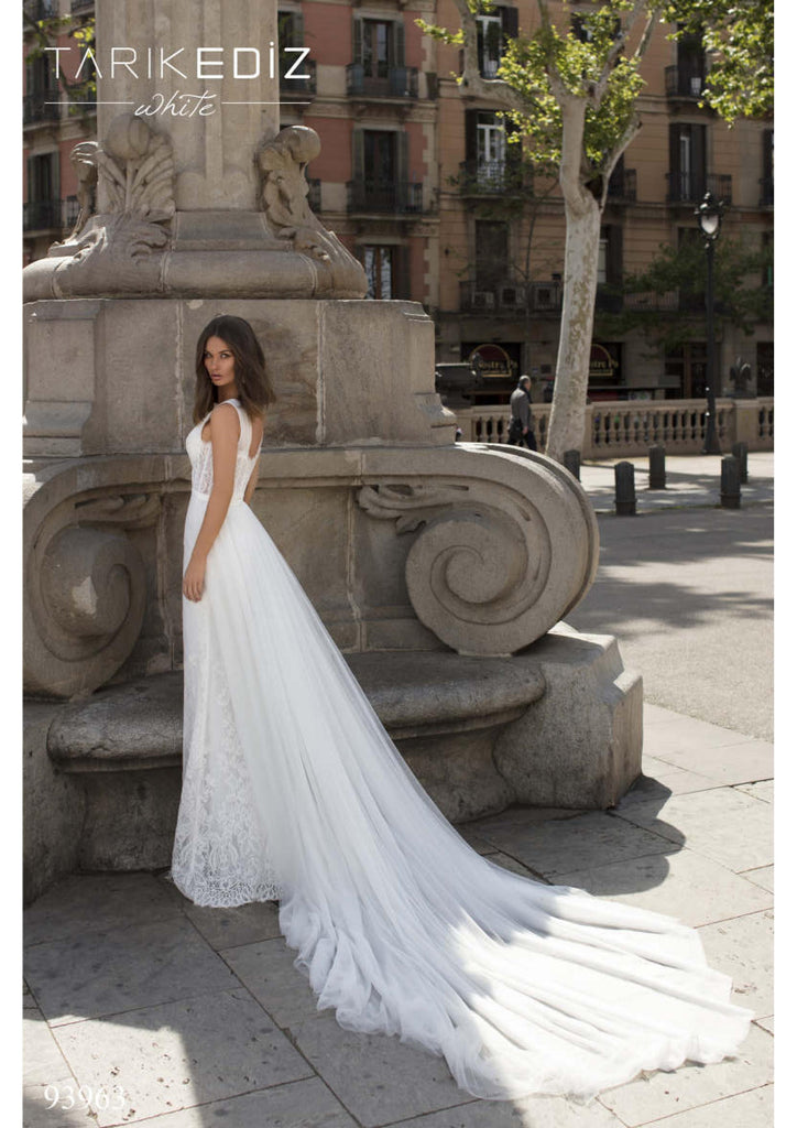 Tarik Ediz 93963 wedding dress
