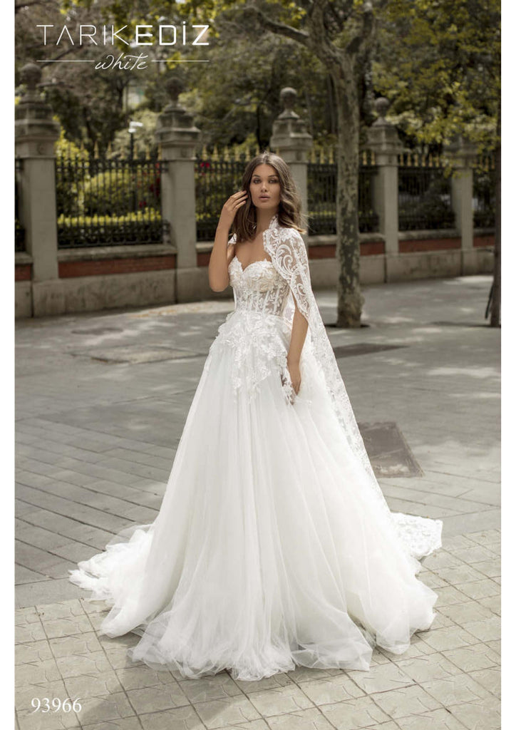 Tarik Ediz 93966 wedding dress