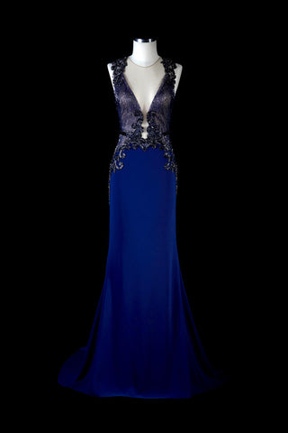 Tarik Ediz 93264 Evening Dress