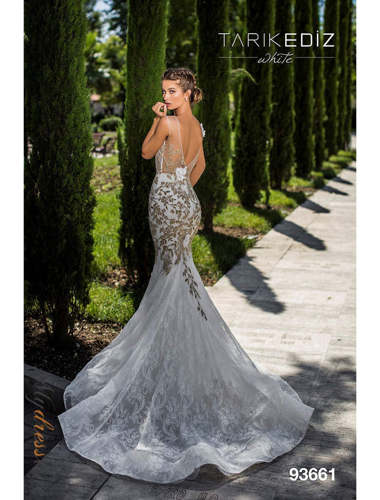 Tarik Ediz 93661 Wedding Dress