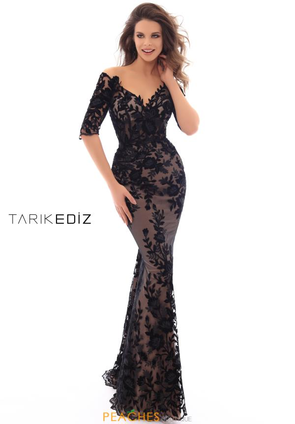 Tarik Ediz 93666 Evening Dress