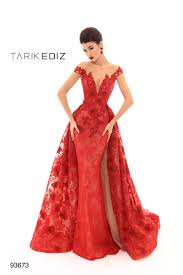 Tarik Ediz 93673 Evening Dress