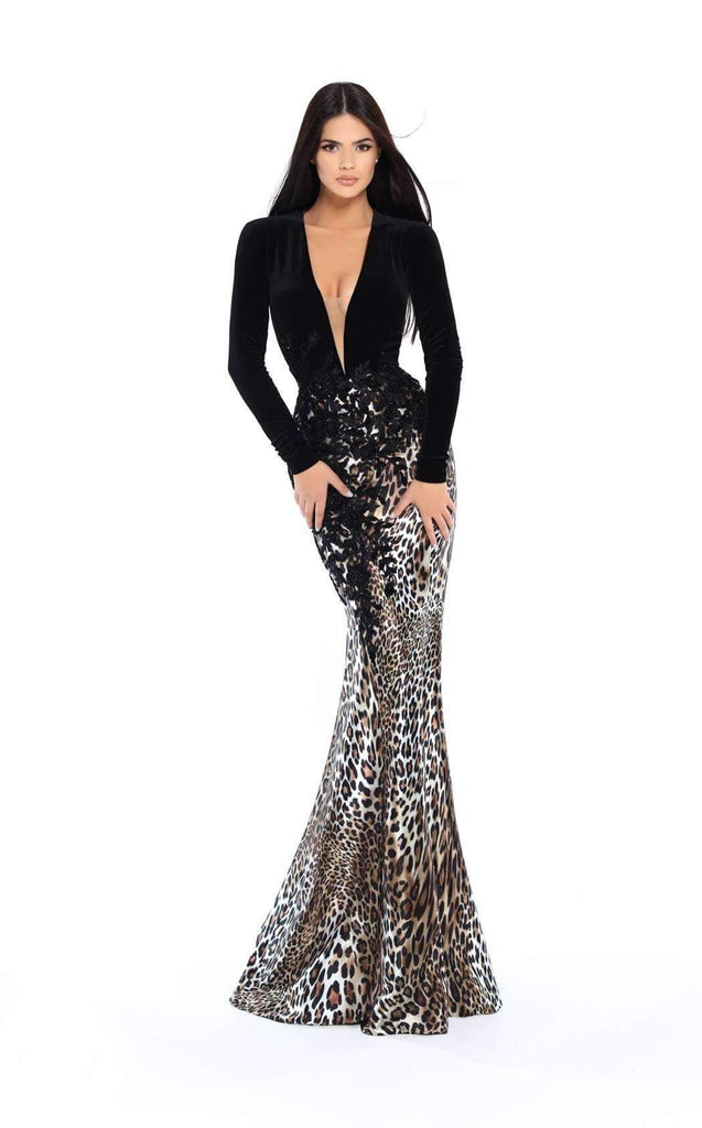 Tarik Ediz 93747 Evening Dress