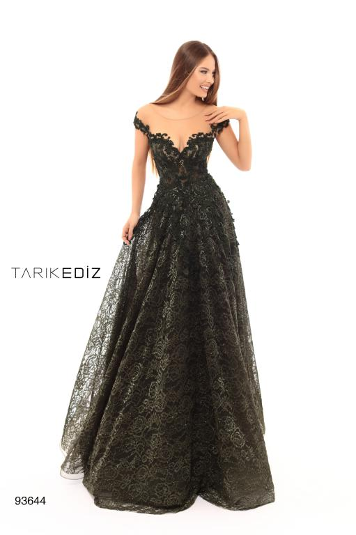 Tarik Ediz 93644 Evening Dress