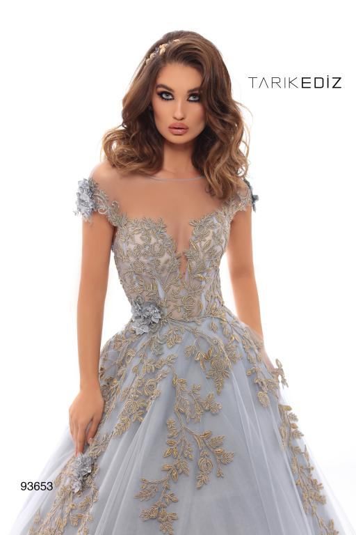 Tarik Ediz 93653 Evening Dress