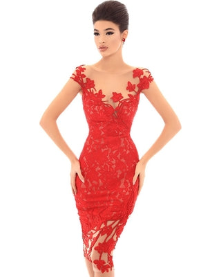 Tarik Ediz 93695 Evening Dress