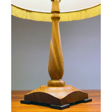 Load image into Gallery viewer, Monkeypod Table Lamp, Square Base
