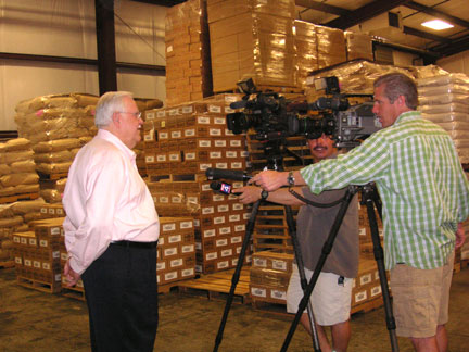 Bill Renfro gets interviewed by FOX4 News