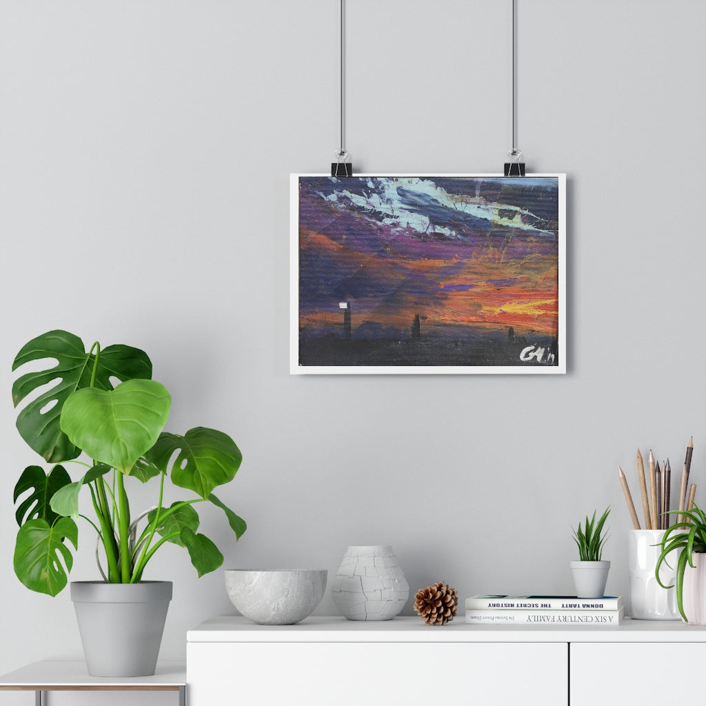 """Darkness turns to dusk "" Giclée Art Print"