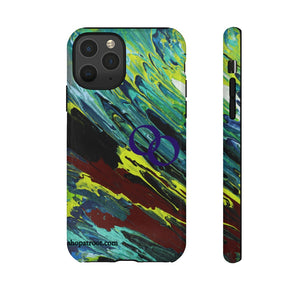 "Open image in slideshow, Tough Phone case "" Fresh Mint"""