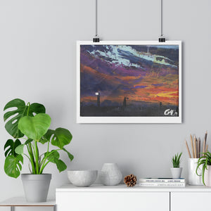 "Open image in slideshow, ""Darkness turns to dusk "" Giclée Art Print"