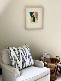 Tips on Pairing Wallpaper and Original Art by Missy Steffens