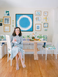 Casual Entertaining: How Original Art and Color can Amp up any Gathering