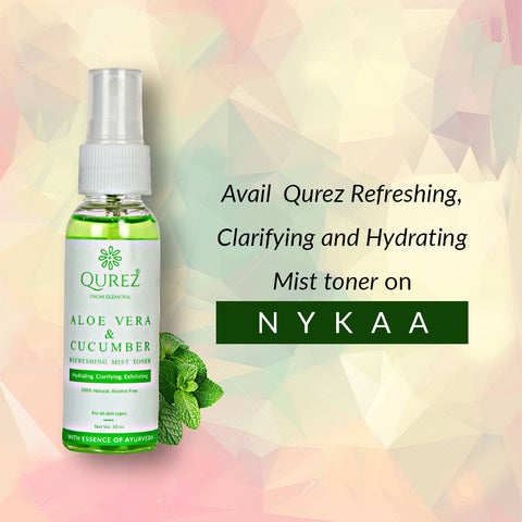 Refreshing Aloe Vera and Cucumber Mist Toner
