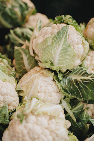 A collection of white Cauliflowers