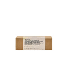 Load image into Gallery viewer, Qurez 7 Herbs Shampoo Bar with Tea Tree and Lemongrass (Sulphate free and Organic), 100g