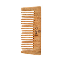 Load image into Gallery viewer, Qurez De-tangling Neem Wood Comb