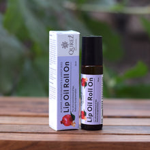 Load image into Gallery viewer, Almond, Pomegranate & Carrot seed Lip Oil Roll On, 10 ml
