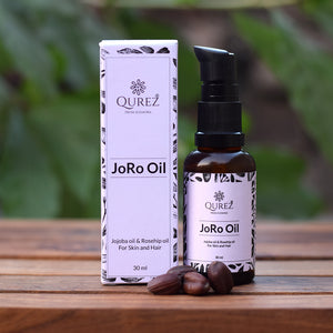 JoRo Oil - Jojoba and Rosehip Oil for Skin and Hair, 30 ml
