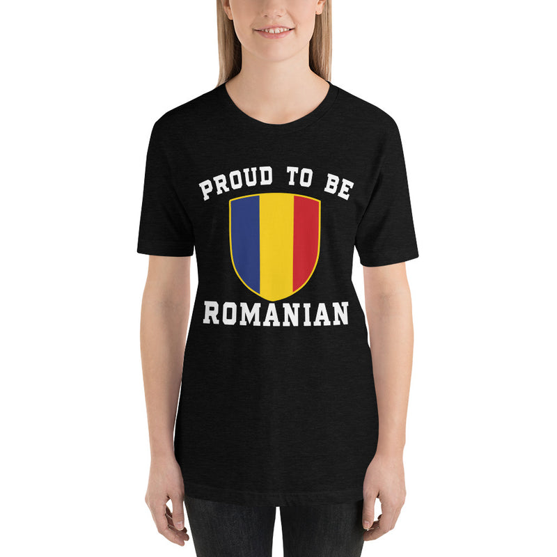 Proud to be Romanian Women T-Shirt - Mirela's Tshirts