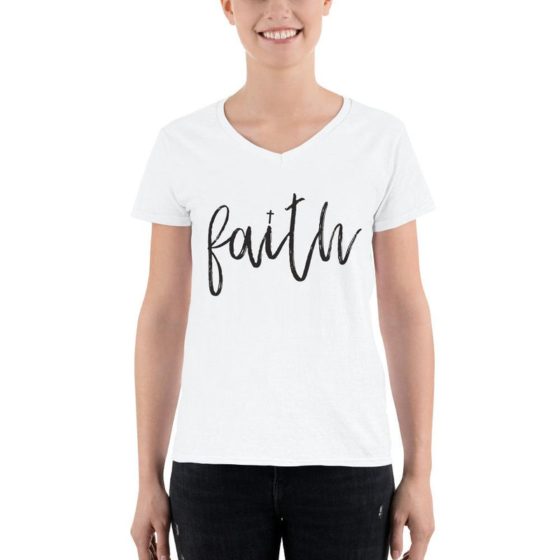 Women Christian T shirt, Miracles Happen Every Day design