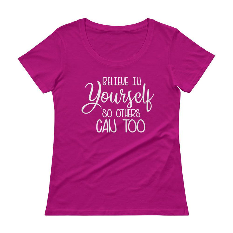 Women Christian Ladies' Scoopneck T-Shirt - Mirela's Tshirts