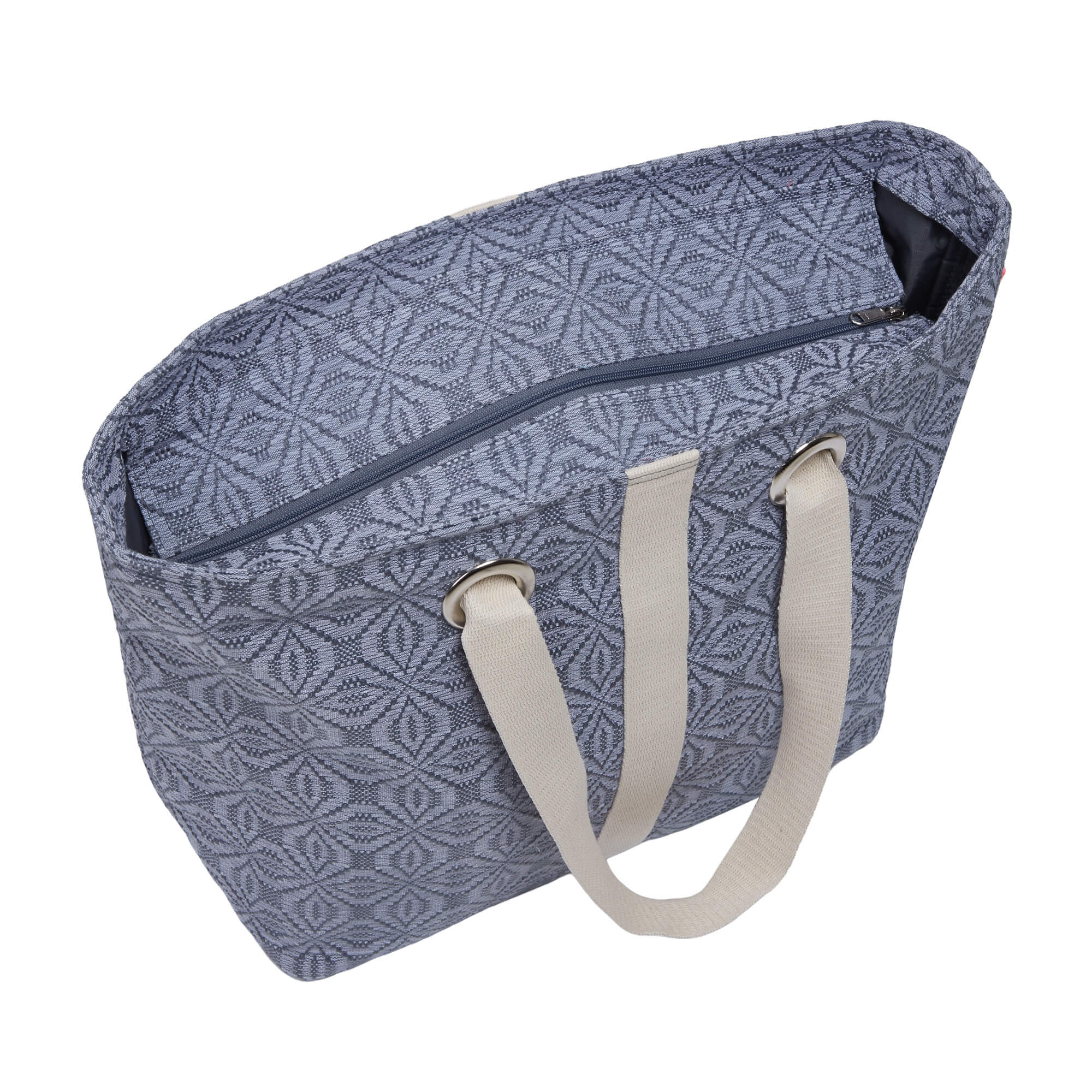 Grey Lollipop Beach Bag