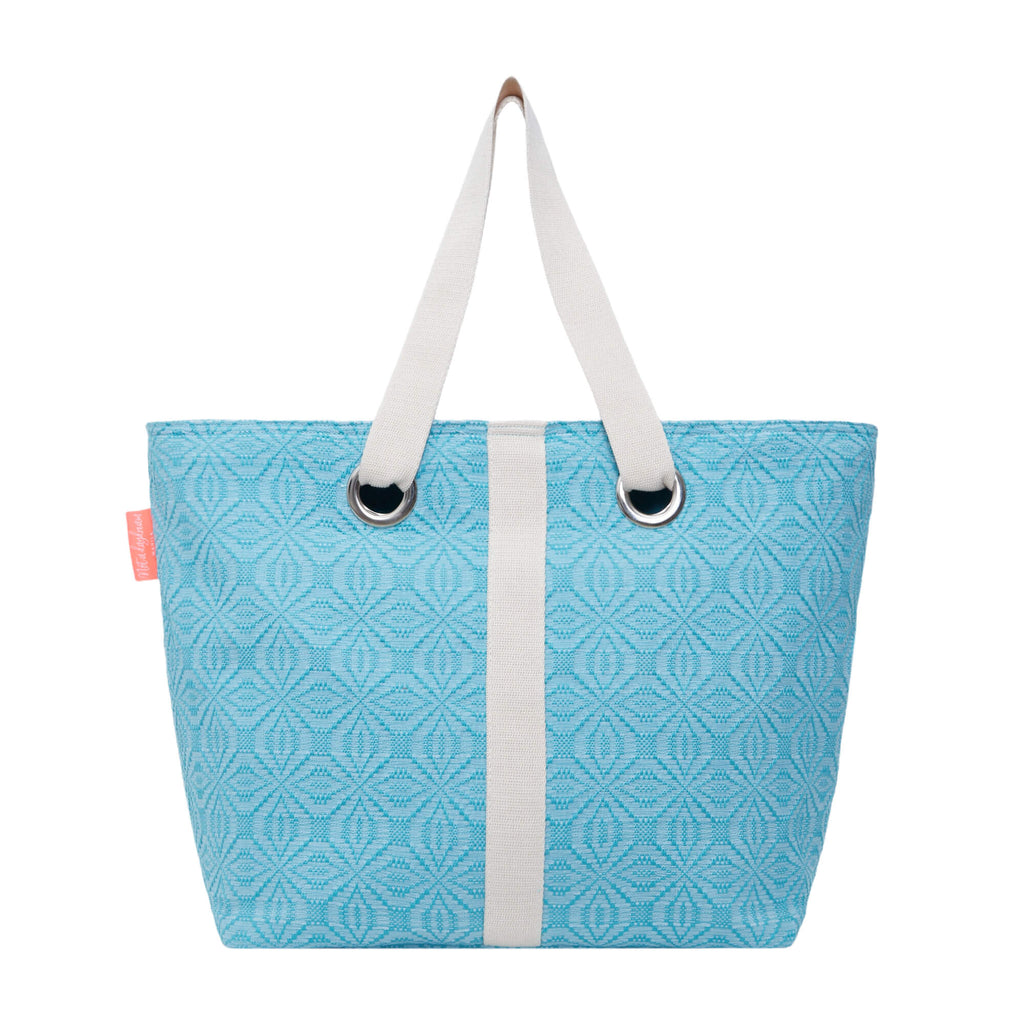 Sky Blue Lollipop Beach Bag