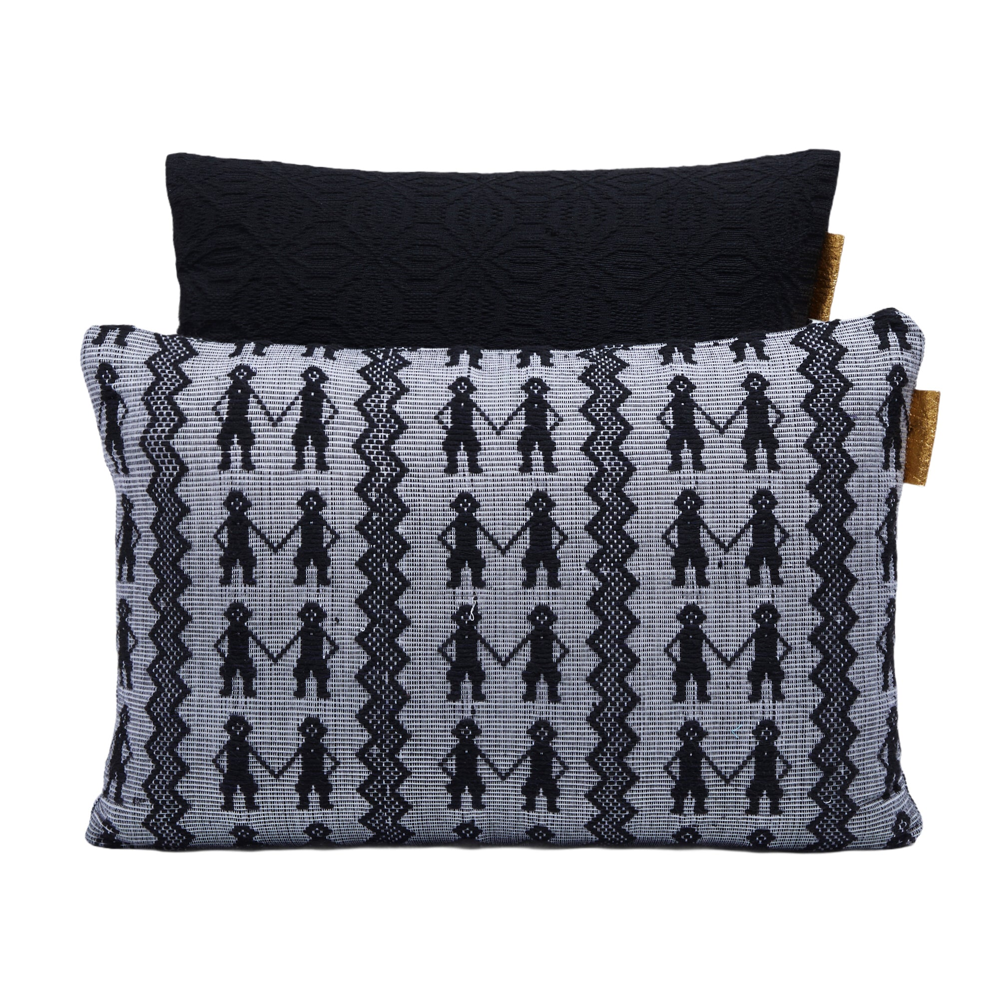 Cushion Cover Black & Kibin Kibin