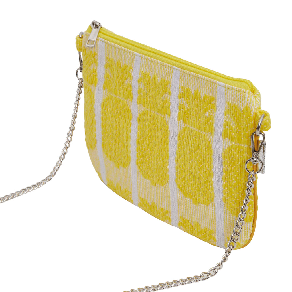 Yellow Pineapple Sling Bag