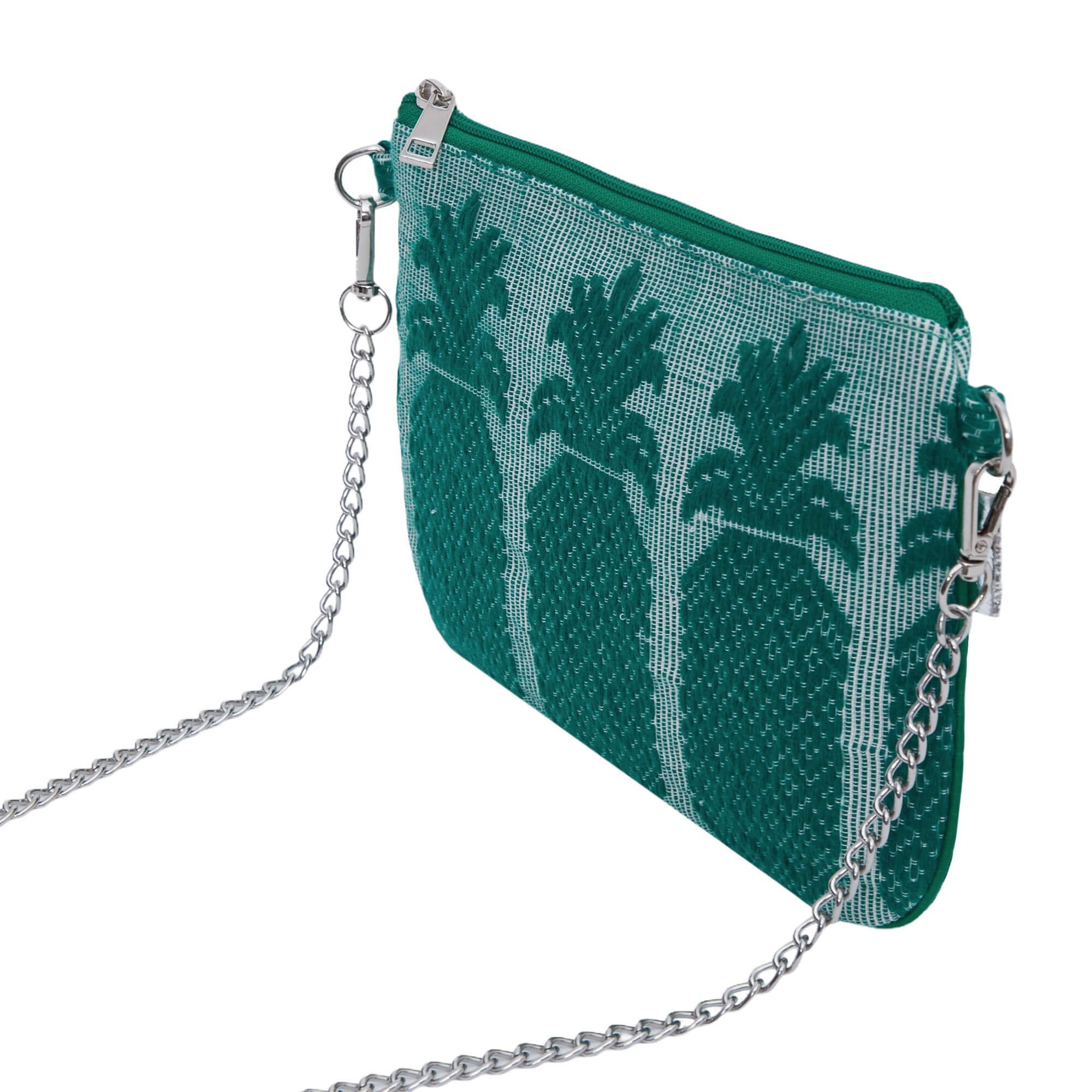 Green Pineapple Sling Bag