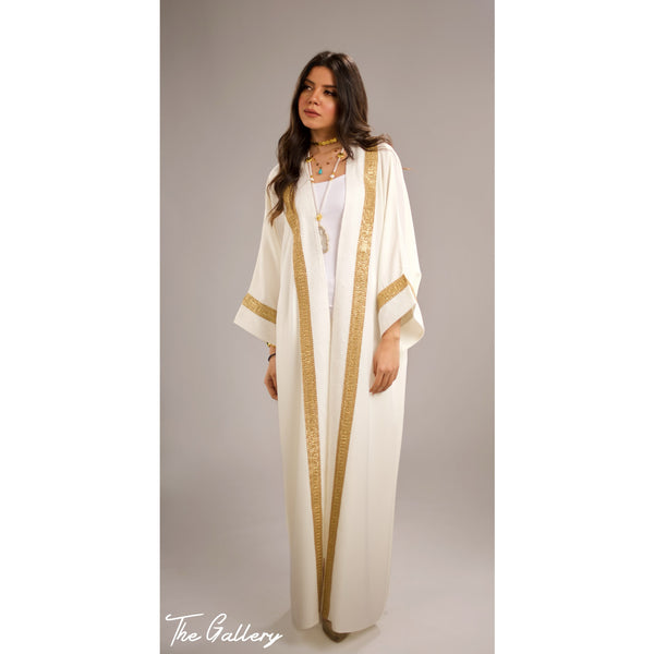 off white Indian kaftan