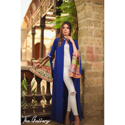 Blue indian kaftan