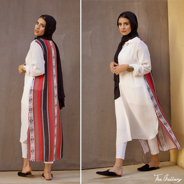 Bedouin printed buttoned shirt