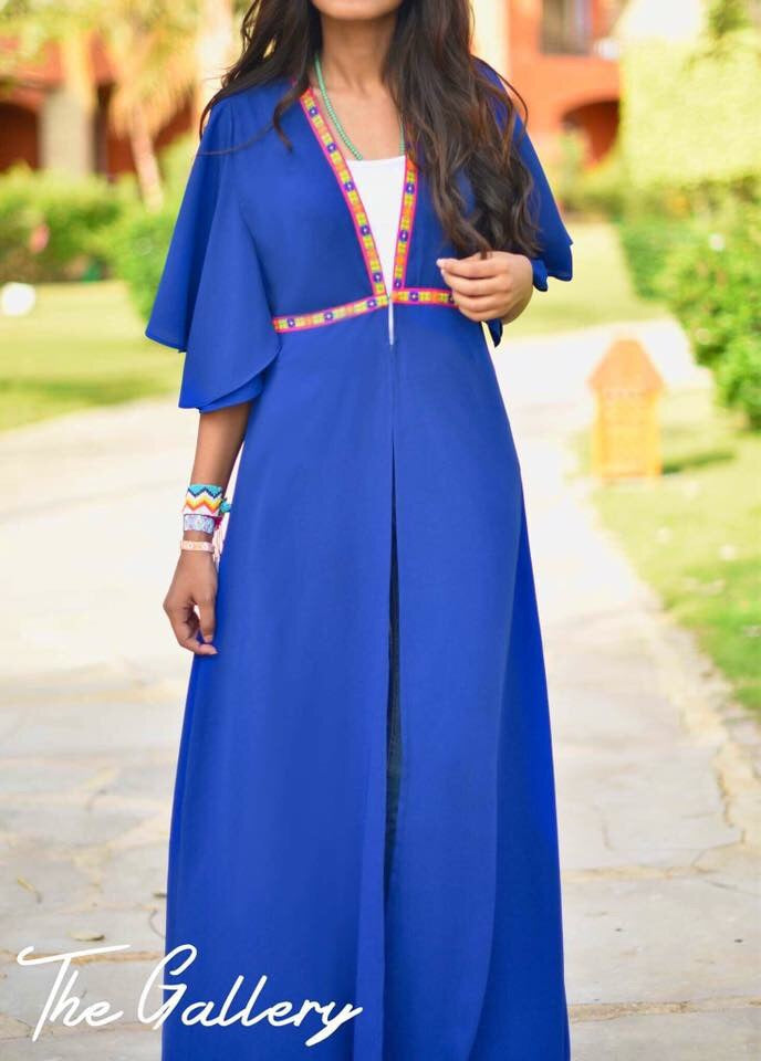 Blue indian dress