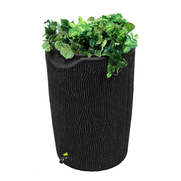 Impressions Eco Bark 50 Gallon Rain Saver - 100% Recycled Material