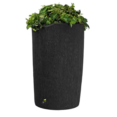 Impressions Eco Bark 90 Gallon Rain Saver - 100% Recycled Material