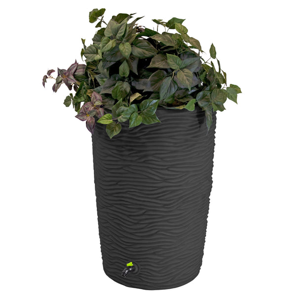 Impressions Eco Palm 50 Gallon Rain Saver - 100% Recycled Material