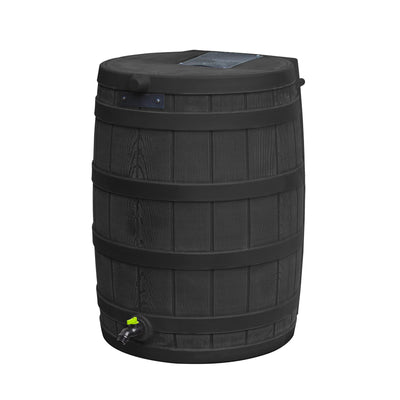 Rain Wizard Eco 50 Gallon Rain Barrel - 100% Recycled Material
