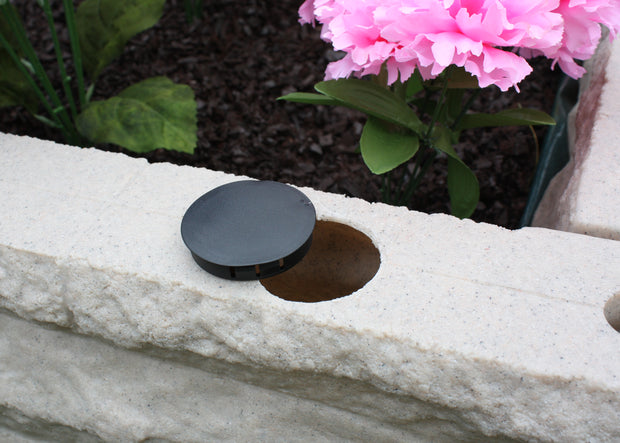 Garden Wizard Self Watering 2 Foot Stone Landscape Border Wall