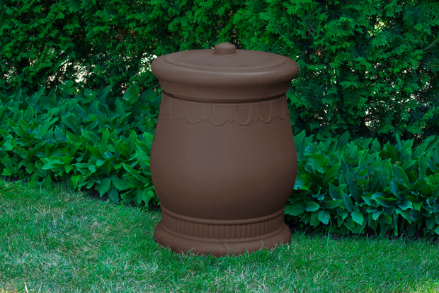 Savannah Urn Storage and Waste Bin