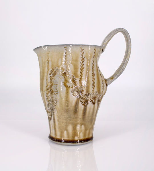 Soda fired pitcher