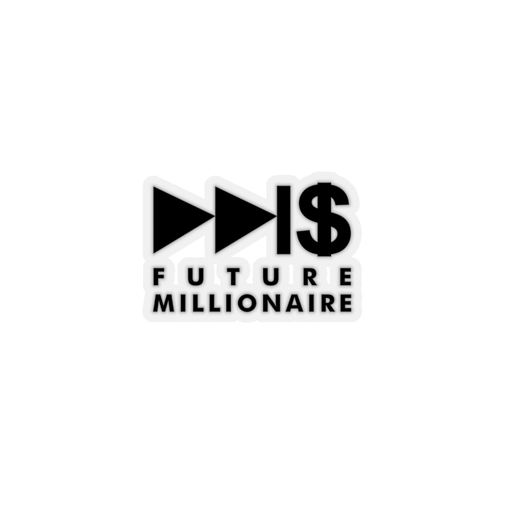 Future Millionaire Sticker - New Future Clothing