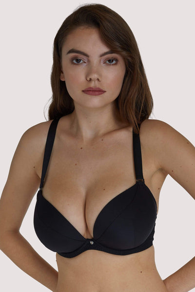 Scantilly, Black - Soutien-Gorge Ultra Pigeonnant Multiposition