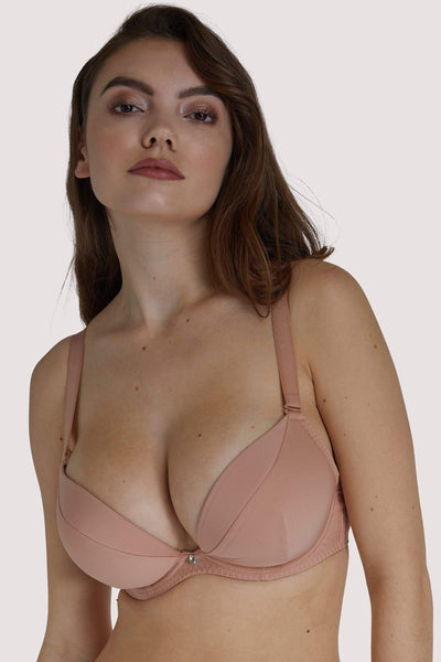 Scantilly, Latte - Soutien-Gorge Ultra Pigeonnant Multiposition