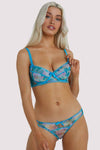 Playful Promises, Joey - Soutien-Gorge Aquarelle Bleue (A-D)