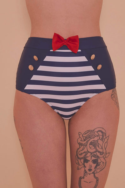 Collectif, Nautical - Bas De Bikini Marin