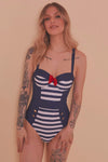 Collectif, Nautical - Maillot De Bain Marin