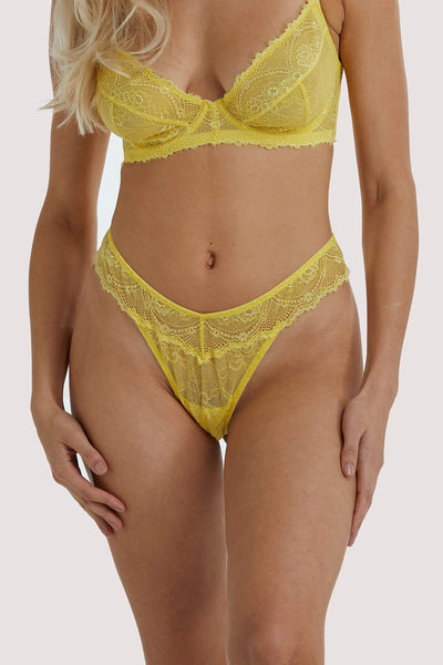 Wolf & Whistle, Ariana Citron - String Du Quotidien En Dentelle